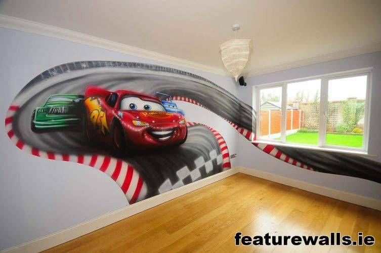Great Disney Pixar Cars Wall Mural Details About Lightning Mcqueen Photo Wallpaper