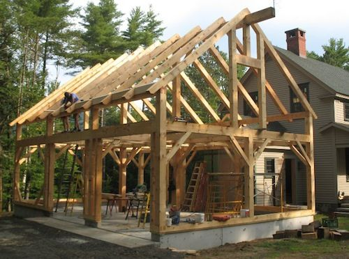 New Timber Frame Projects Amstutz Woodworking Llc24x36
