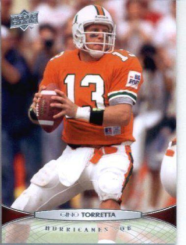 2012 Upper Deck Football Card #24 Gino Torretta - Miami Hurricanes (Heisman Trophy - 1992) by Upper Deck. $1.89. 2012 Upper Deck Football Card #24 Gino Torretta - Miami Hurricanes (Heisman Trophy - 1992)
