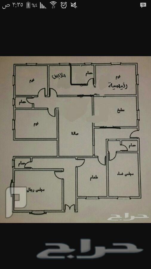 ارض للبيع بسعر مغري لظروف Bungalow Floor Plans Simple House Plans Model House Plan
