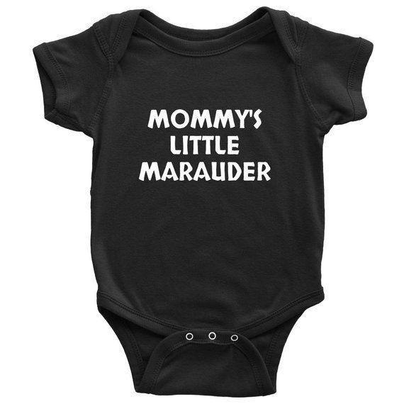 a65dcd134 Funny Pagan Baby Onesie - Cute Viking Baby Shirt - Mommy's Little Marauder  - Newborn Through 24 Mont