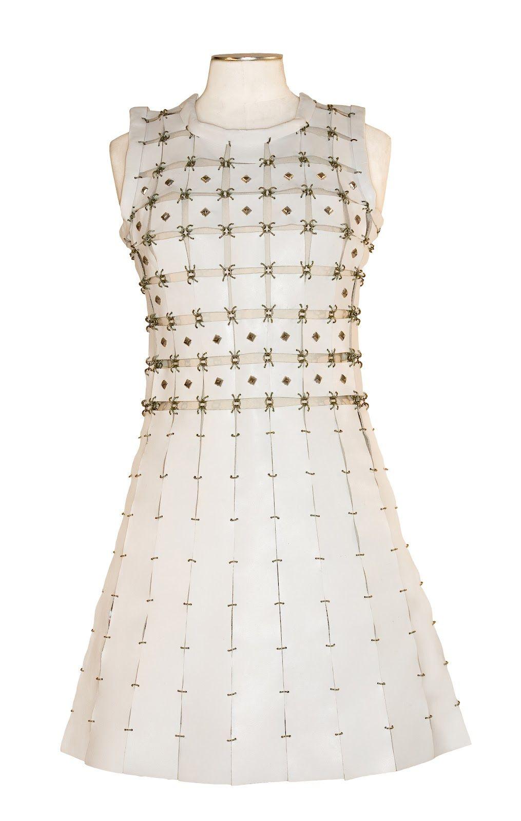 5683b1b057a2a Paco Rabanne 60's designs | cut-out dress. 1960's) | 60s | Fashion ...