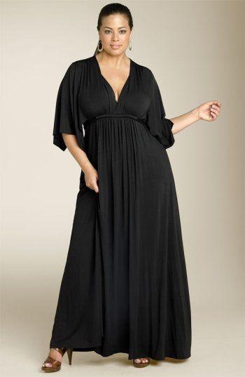 Vestidos de noche para mujeres con brazos gordos