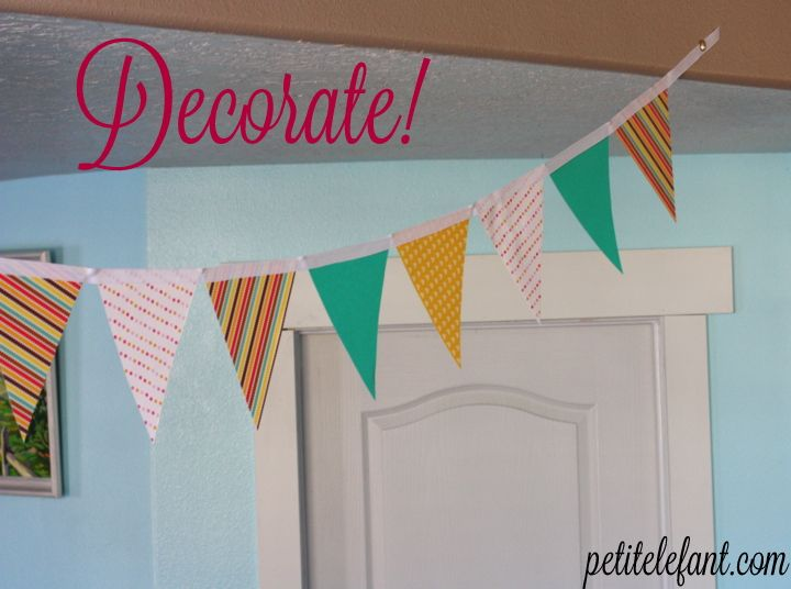 It S So Easy To Learn How Make A Paper Flag Banner The Easiest Thing In World Here Quick And Tutorial Your Own