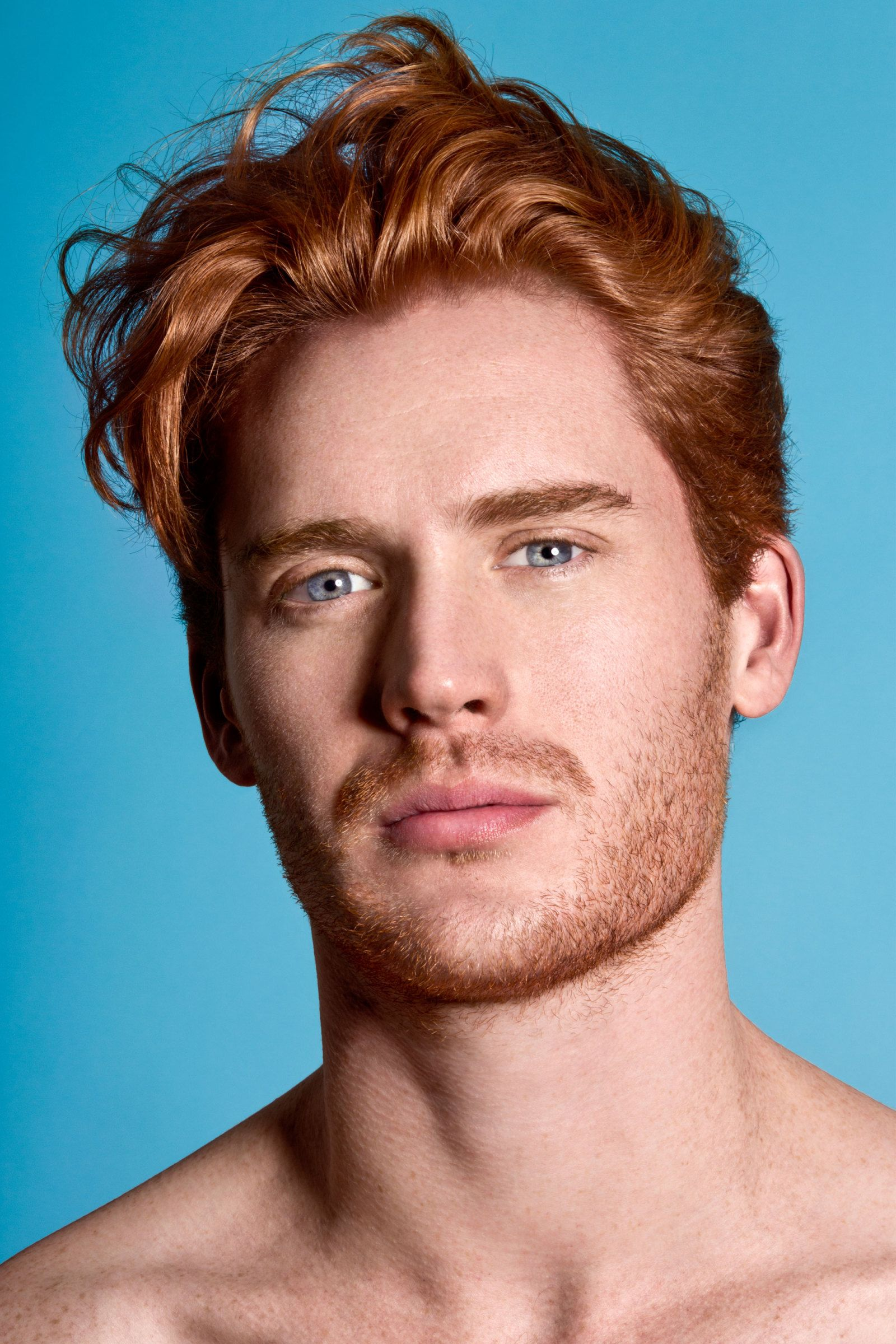 Ginger Red Hair Male