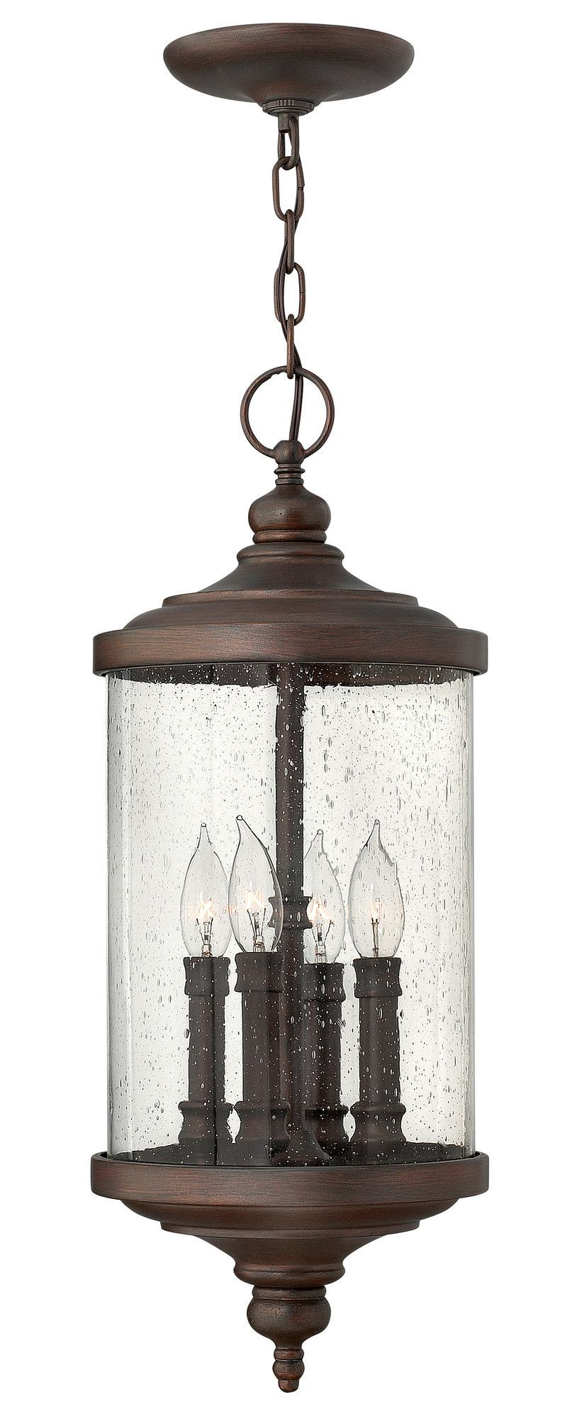 Barrington 4 light outdoor hanging lantern