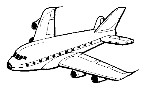 cartoon aeroplane - Google Search | Airplane coloring ...