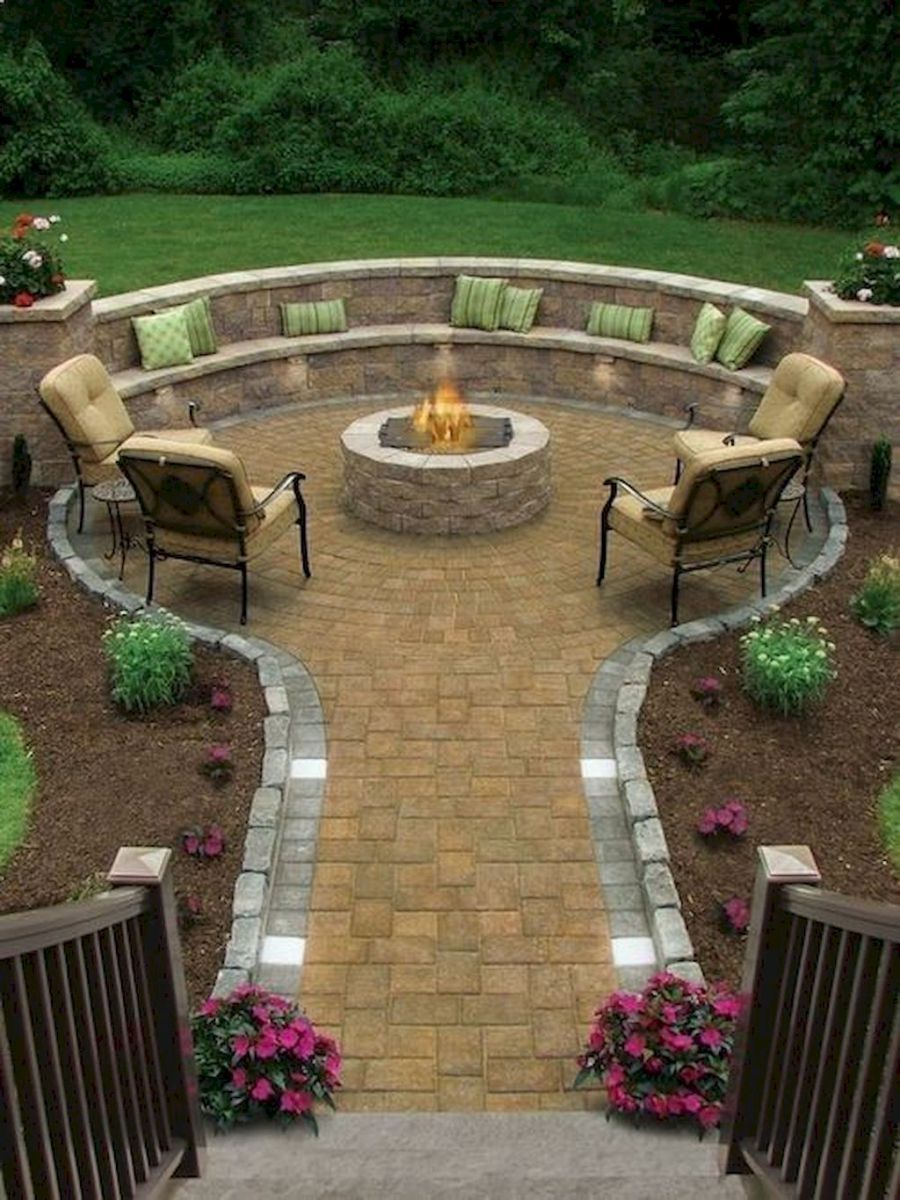 Easy DIY Backyard Seating Area Ideas on A Budget (45) - Easy DIY Backyard Seating Area Ideas On A Budget (45) For The Home