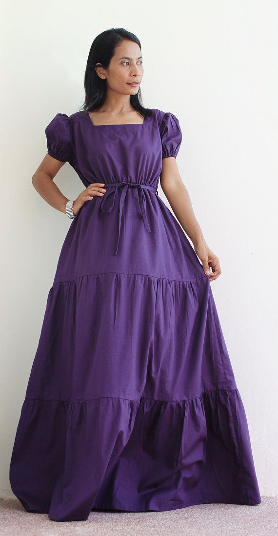 Purple Bridesmaids Dress by Nuichan, $59.00 | Pinterest Mini-Mall ...