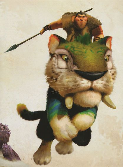 the croods tiger - Buscar con Google   para ceramica ...
