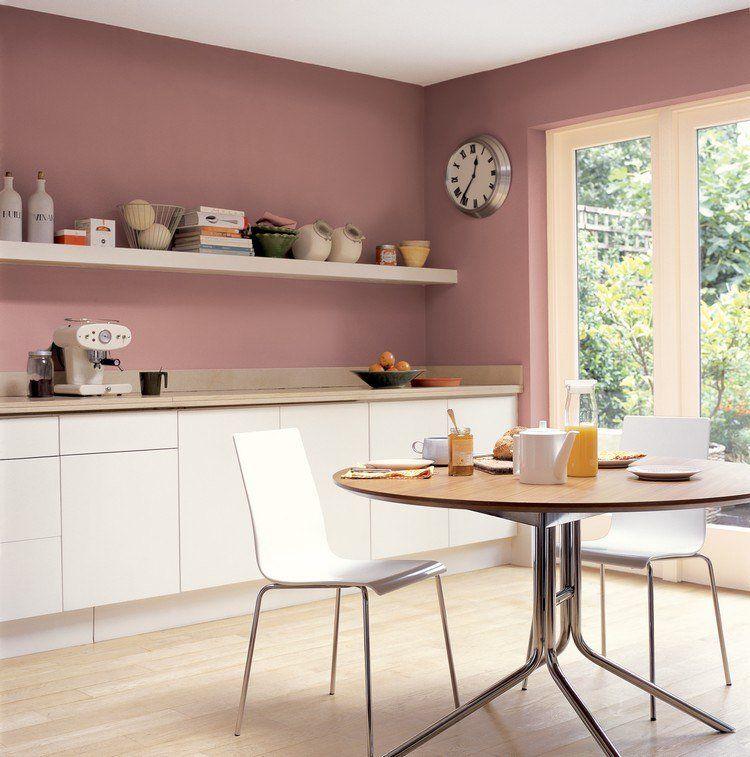 Deco Cuisine Couleur Rose Cendre Sur Deavita Room Pinterest
