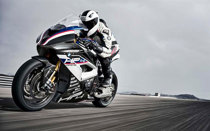 Download Wallpapers Bmw Hp4 2018 4k Sports Motorcycles New Hp4