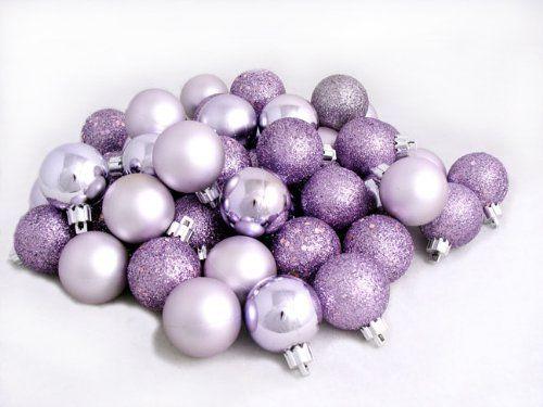 $19.99-$49.99 Purple Christmas Ball Ornament Club Pack Item ...