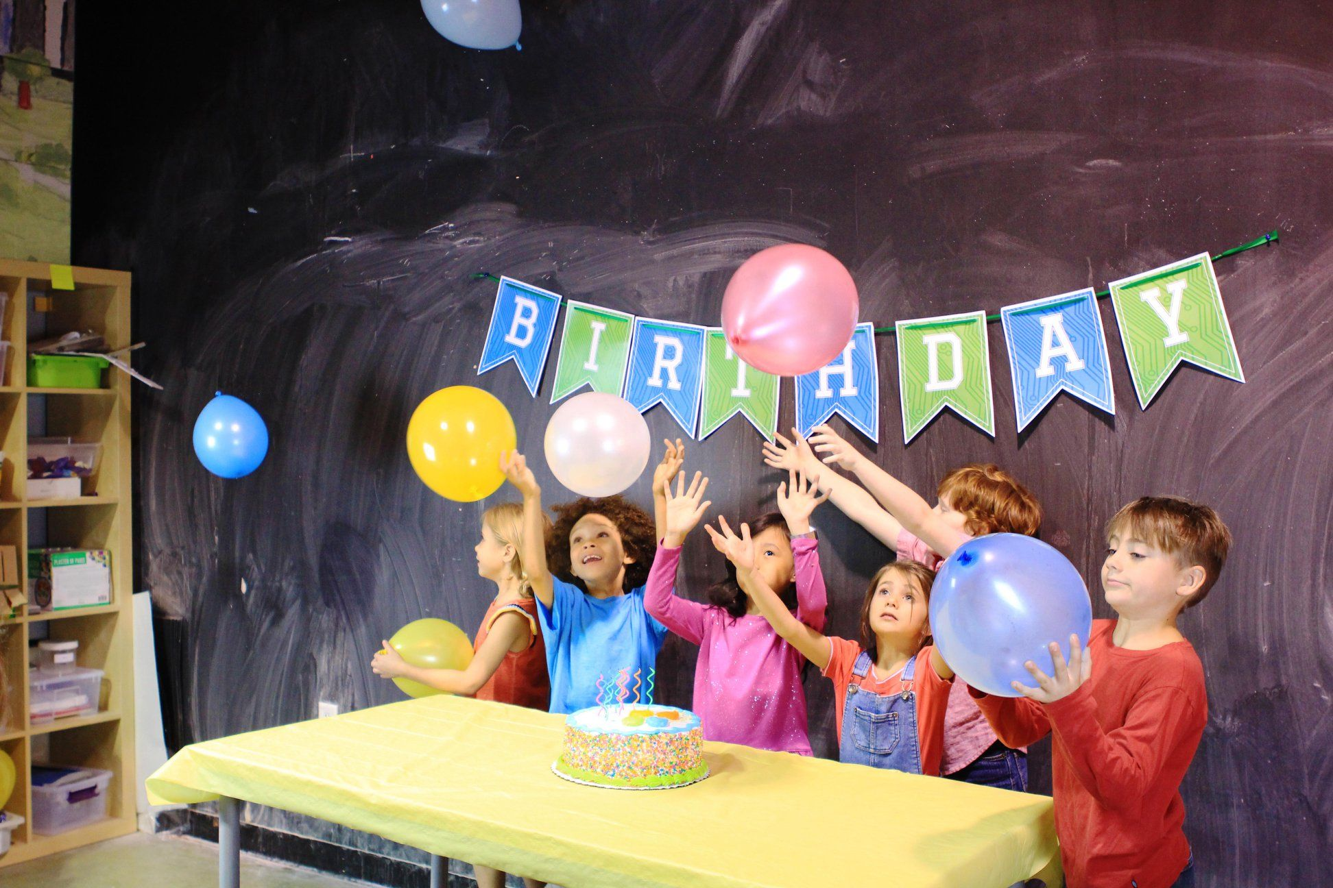 Idealab Parties Are The Best Birthday Party Places Kids Birthday Kids Birthday Party Places