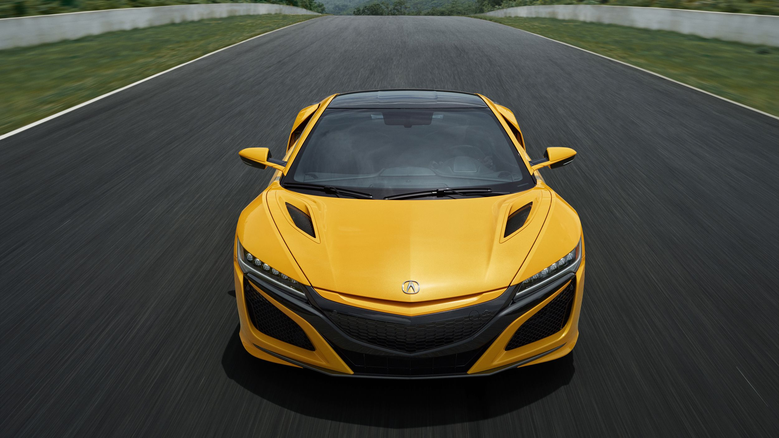 2020 Acura NSX Indy Yellow Pearl Gallery Pictures, Photos