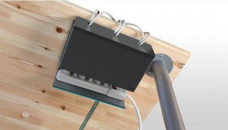 Soluci n pr ctica para ocultar los cables decorahoy cajas para cables pinterest ocultar - Caja para ocultar cables ...