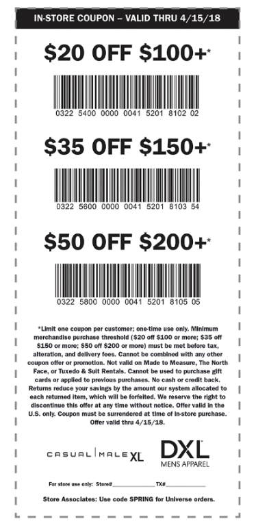 graphic relating to Shopko 20 Off Printable Coupon known as Spot XL Coupon: $20 Off $100, $35 Off $150, $50 Off
