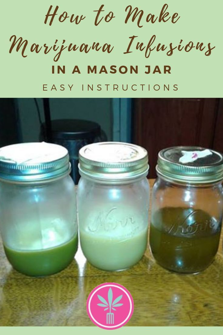 Mason Jar Marijuana Oil