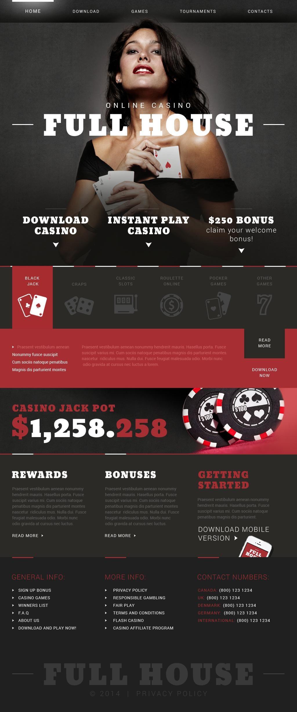 Шаблоны для сайтов казино можно ли играть в карты в вузе