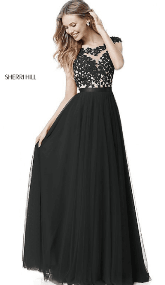 4a007a011 If you re shopping among black prom dresses