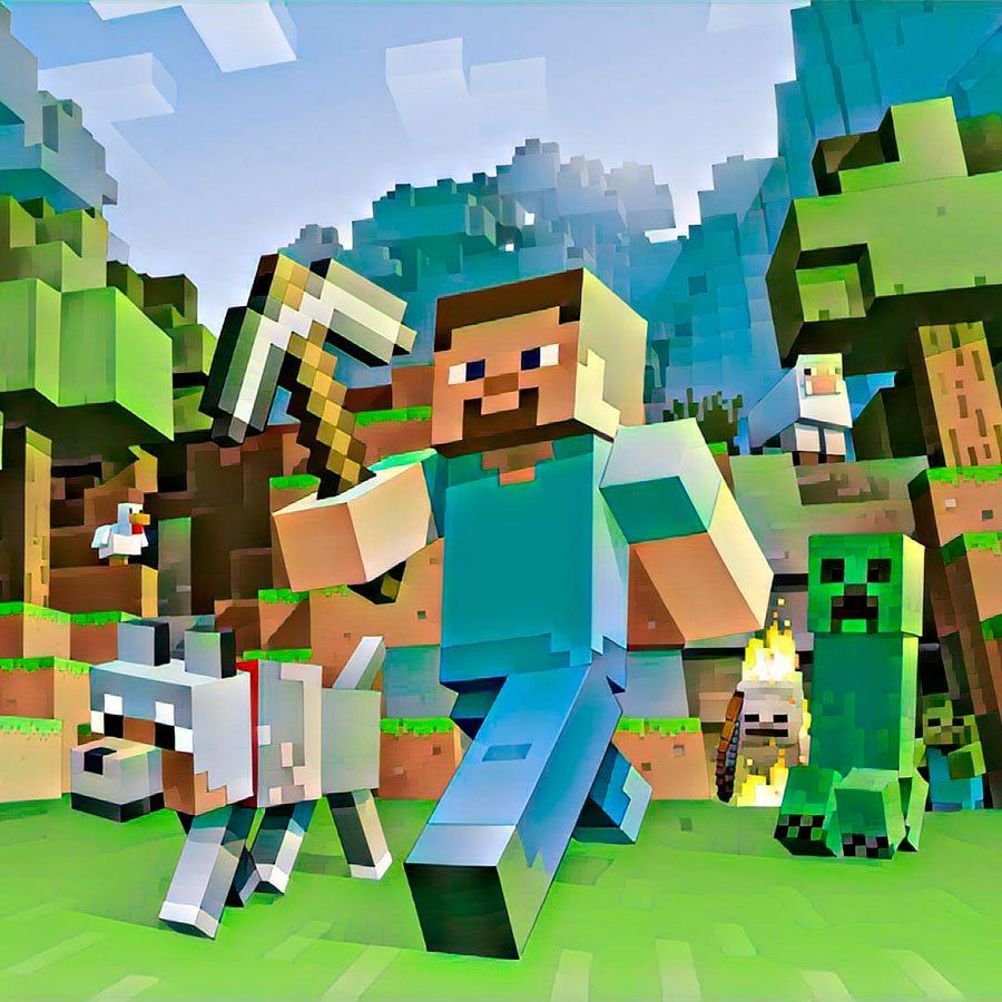 Dobavili Novyj Filtr S Izobrazheniyami Minecraft Skiny