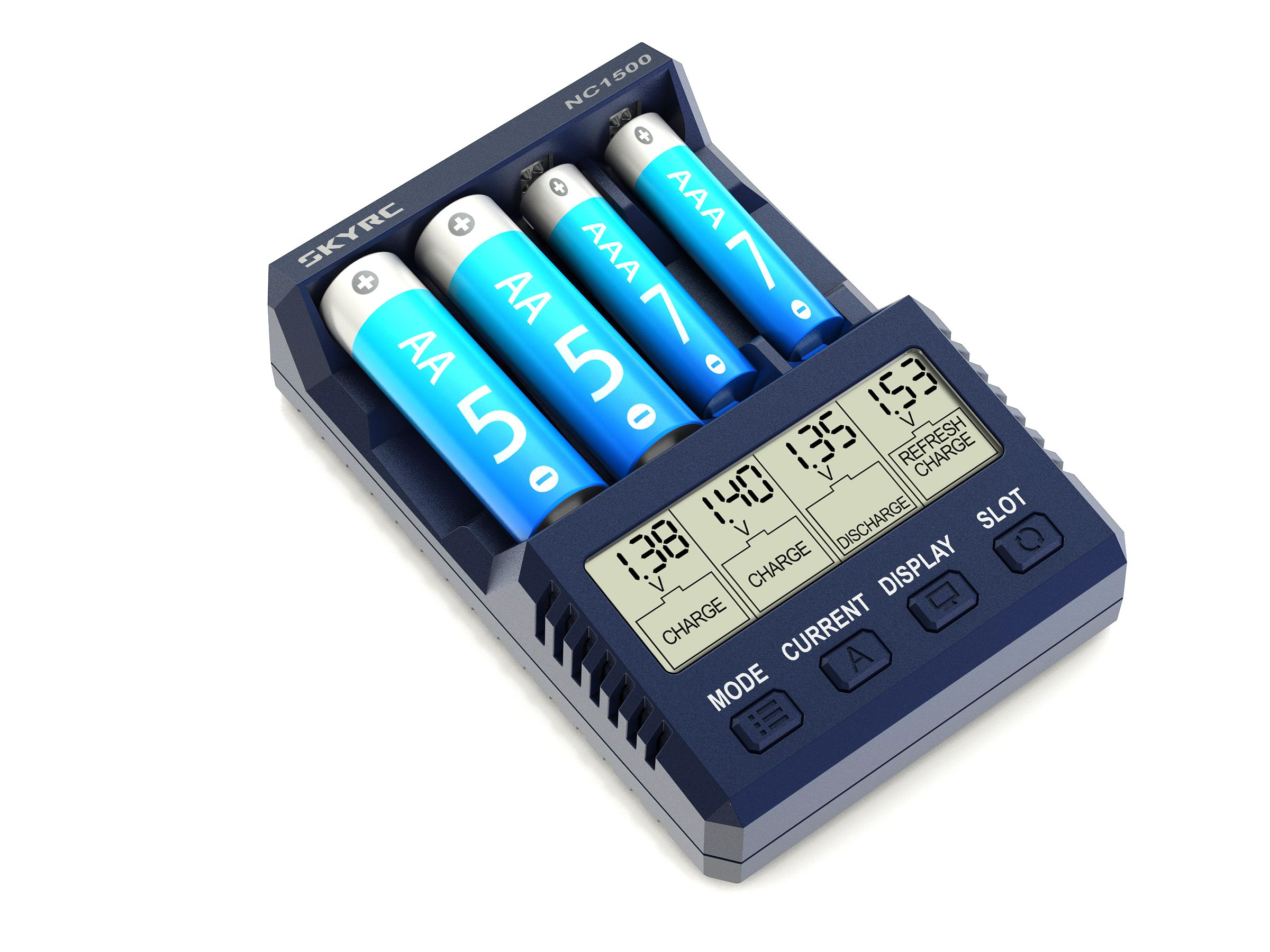 Skyrc Nc1500 Aaa Battery Charger Charger Aaa Batteries