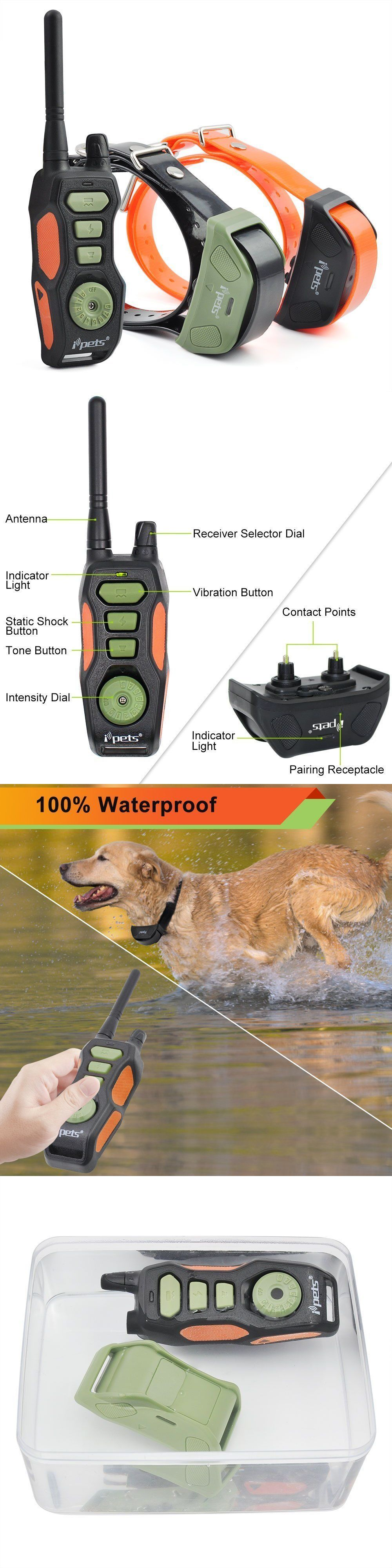 Bark Collars 66774 880 Yards Rechargeable Waterproof Electric