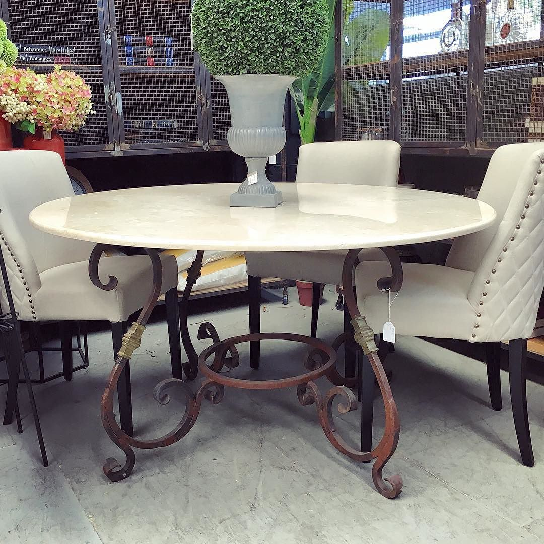 Round Marble Dining Table Canalside Interiors Santiago Round