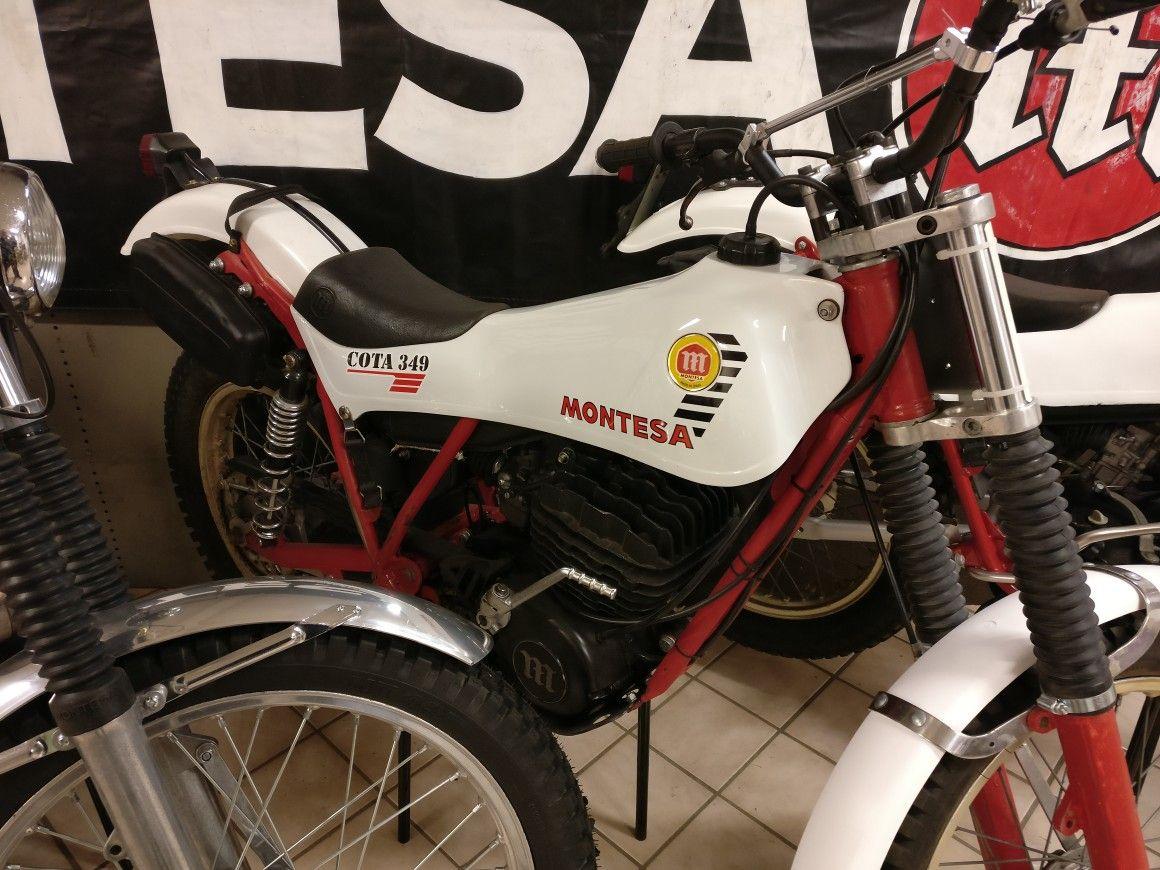 Fabrikscykel Ulf Karlsson Montesa Cota 349 1982 Montesa Motos