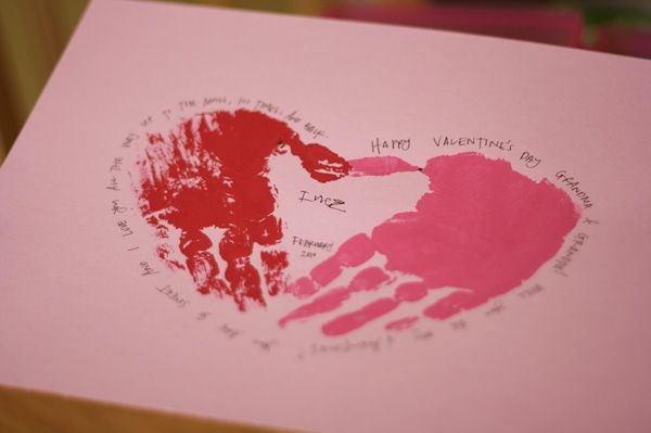 Valentines Day Quotes For Grandparents: Homemade Valentine Cards For Kids. I Think The Kids Will