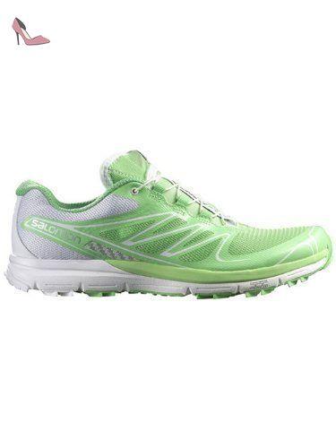 Salomon Sense Pro Womens Trail Running Shoes Verbena Green