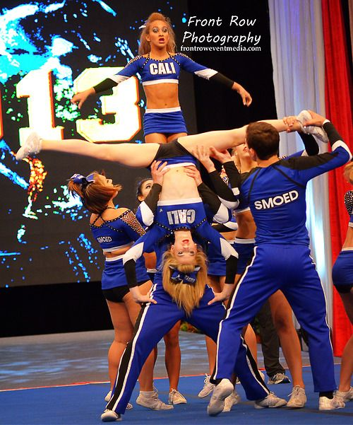 competitive cheerleading cheer competition stunt routine  male cheerleaders
