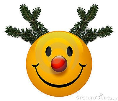 A Smiley Holiday Icon With A Red Nose Holiday Icon Smiley Holiday