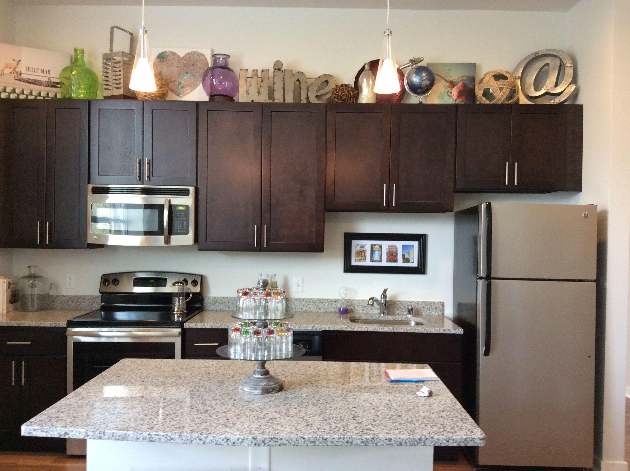 Modern Kitchen In 520 Park Apartments In Historic Mount Vernon Baltimore Apartment Chic Modern Kitchen Apartment