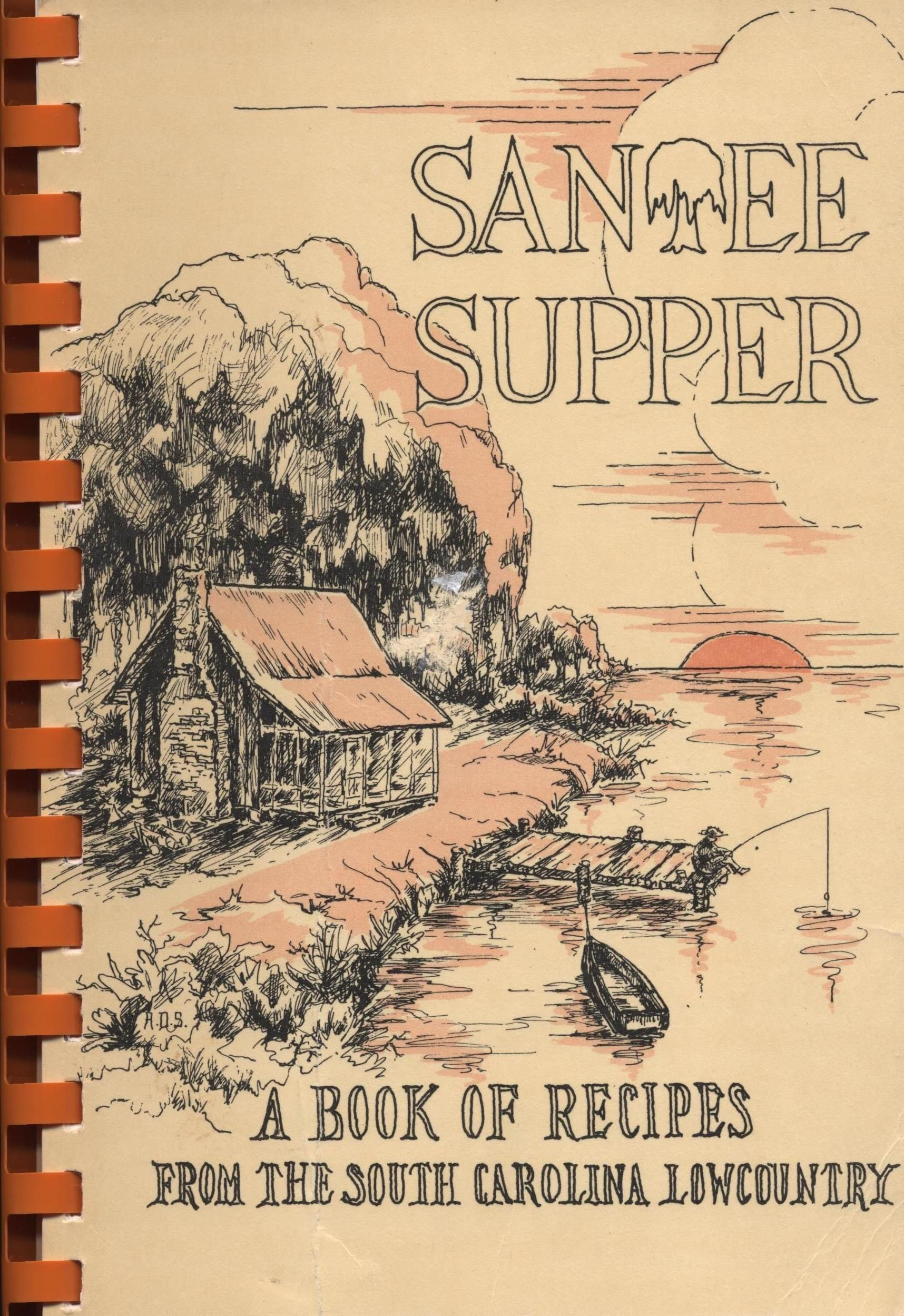 Santee Supper: A Book of Recipes from the South Carolina Low Country. A vintage 1979 community cookbook. This community cookbook has been sold but you can click on the picture to find more new, used and vintage cookbooks in my eBay store. #southcarolina #vintagecookbooks #lowcountry #santee