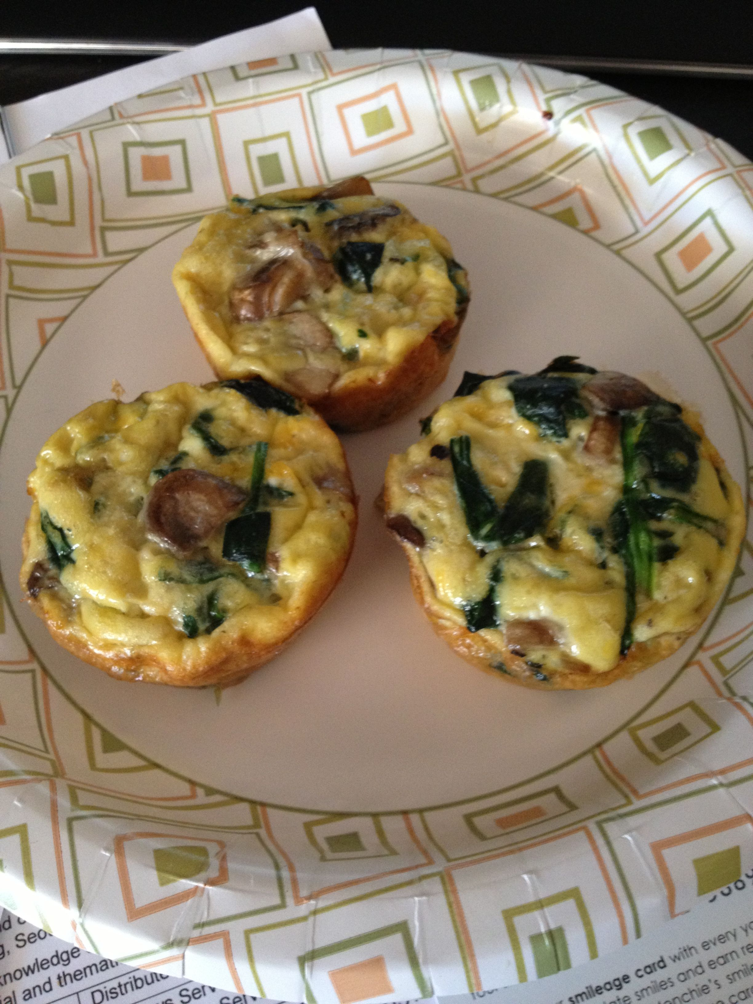 Made these spinach egg cups. Super Easy and yummy low carb meal. Www.recipesquickneasy.com/spinach-egg-cups/