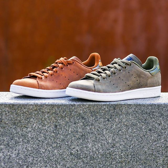 new product b91fc 56de7 Adidas Stan Smith Waxy Camo Dust Rust   Dark Cargo -  StanSmith
