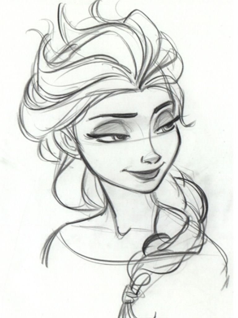 Elsa the snow queen | Dessin roi lion, Dessins faciles et Dessin