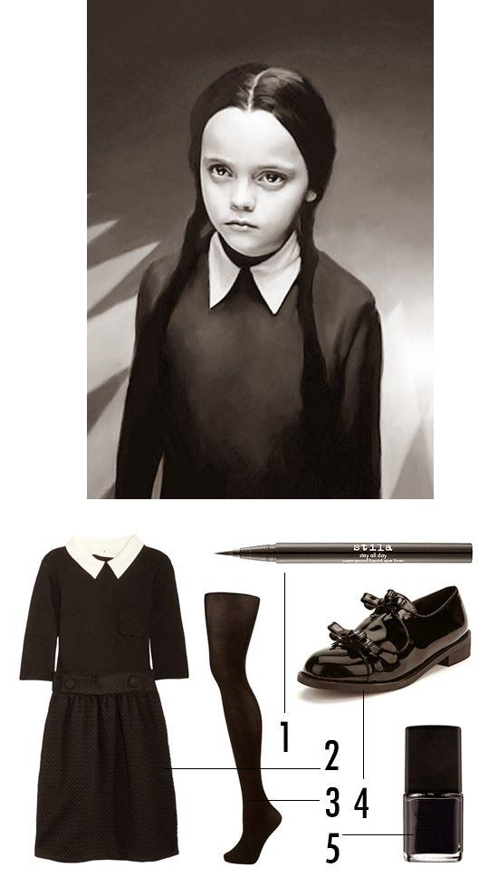 disfraces para halloween disfraz costume addams mircoles nios kids