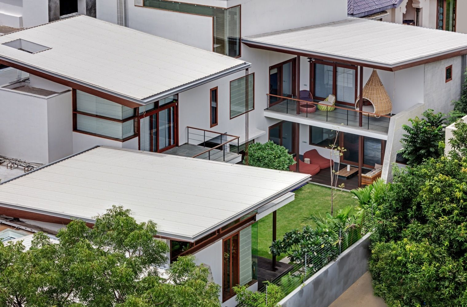 Gallery Of House 1058 Khosla Associates 1 Architecture House With Balcony House