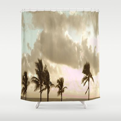 Vintage Florida Shower Curtain by OSMDesigns - $68.00
