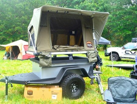 A bit of rain at the Cascadia Vehicle Tents booth & A bit of rain at the Cascadia Vehicle Tents booth | Overlanding ...