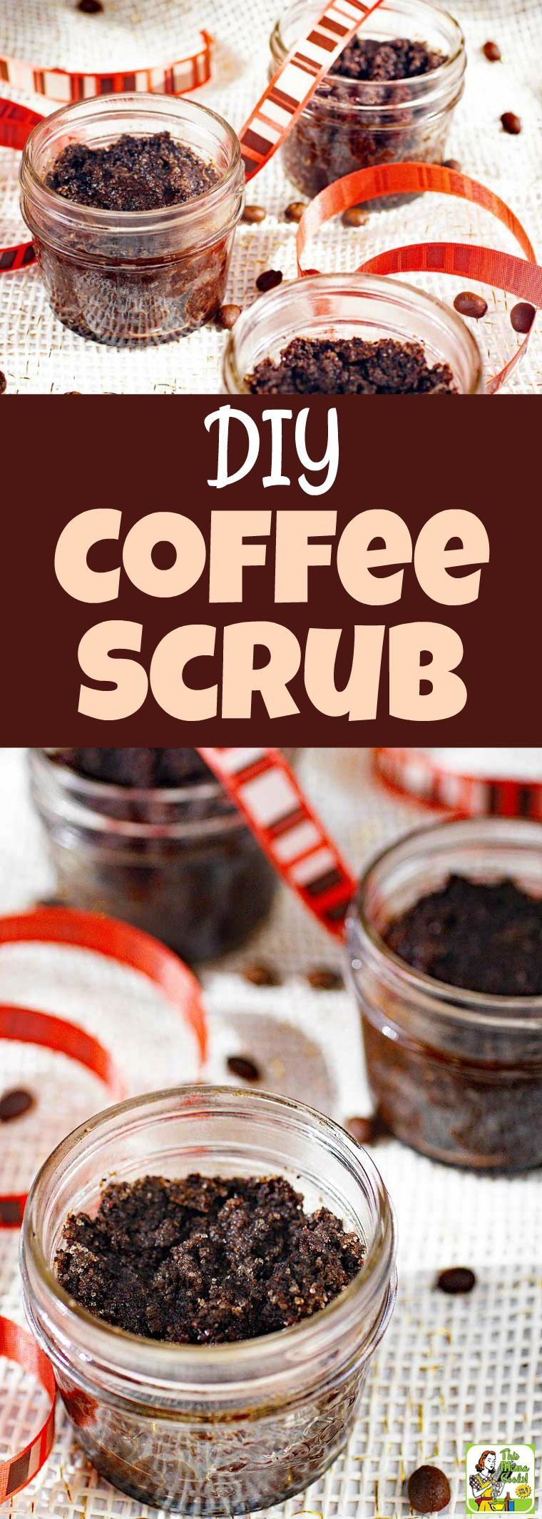 Diy coffee scrub this easy coffee scrub recipe makes a