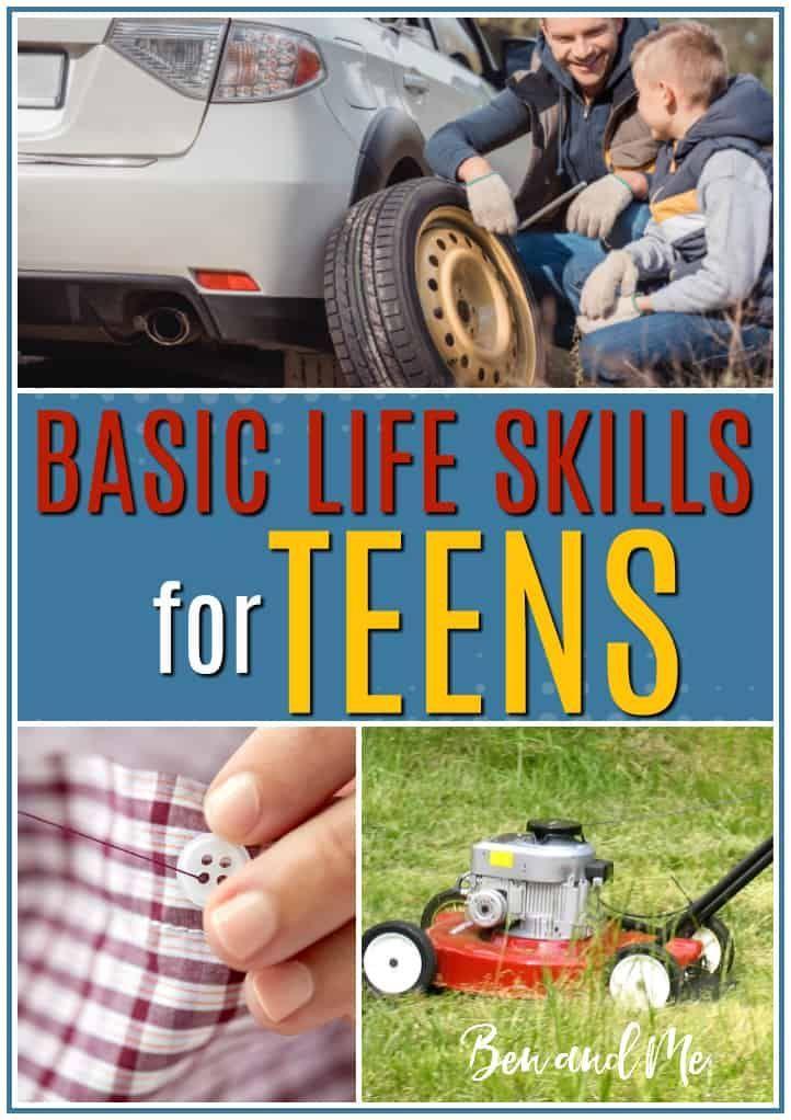 Photo of Basic life skills for teens
