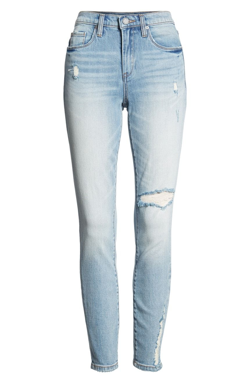 b6ad241e1311 BLANKNYC The Bond Distressed Skinny Jeans (Constant Convo ...