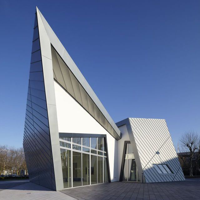 The villa by daniel libeskind exterior pinterest for Daniel libeskind architectural style