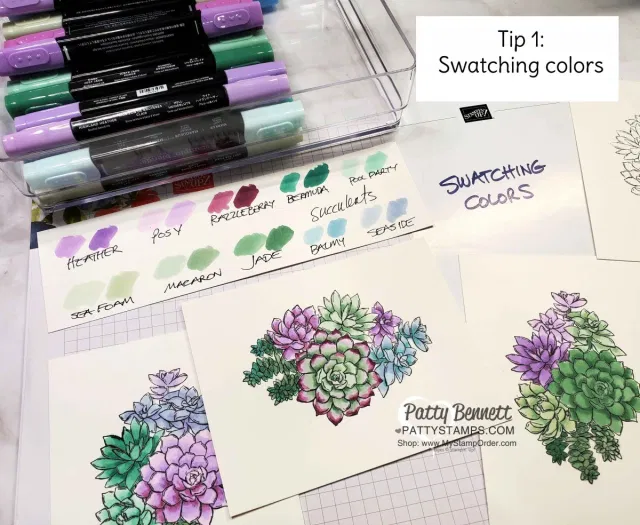 How to Color with Stampin' Blends Video