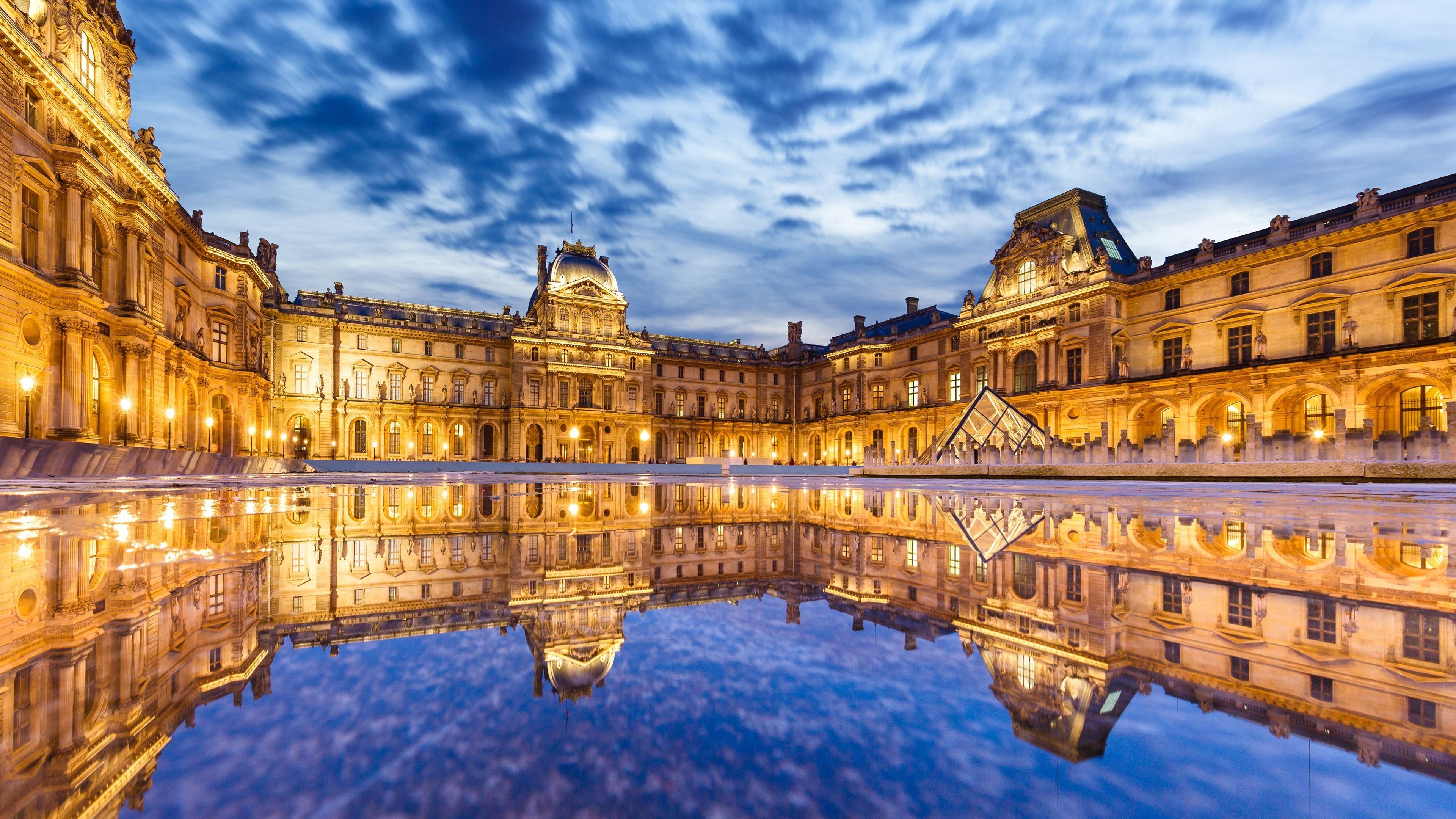 نتيجة بحث الصور عن متحف اللوفر 4k Louvre Paris Louvre Paris France