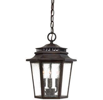 View The Great Outdoors GO 8274 3 Light Lantern Pendant From Wickford Bay Collection