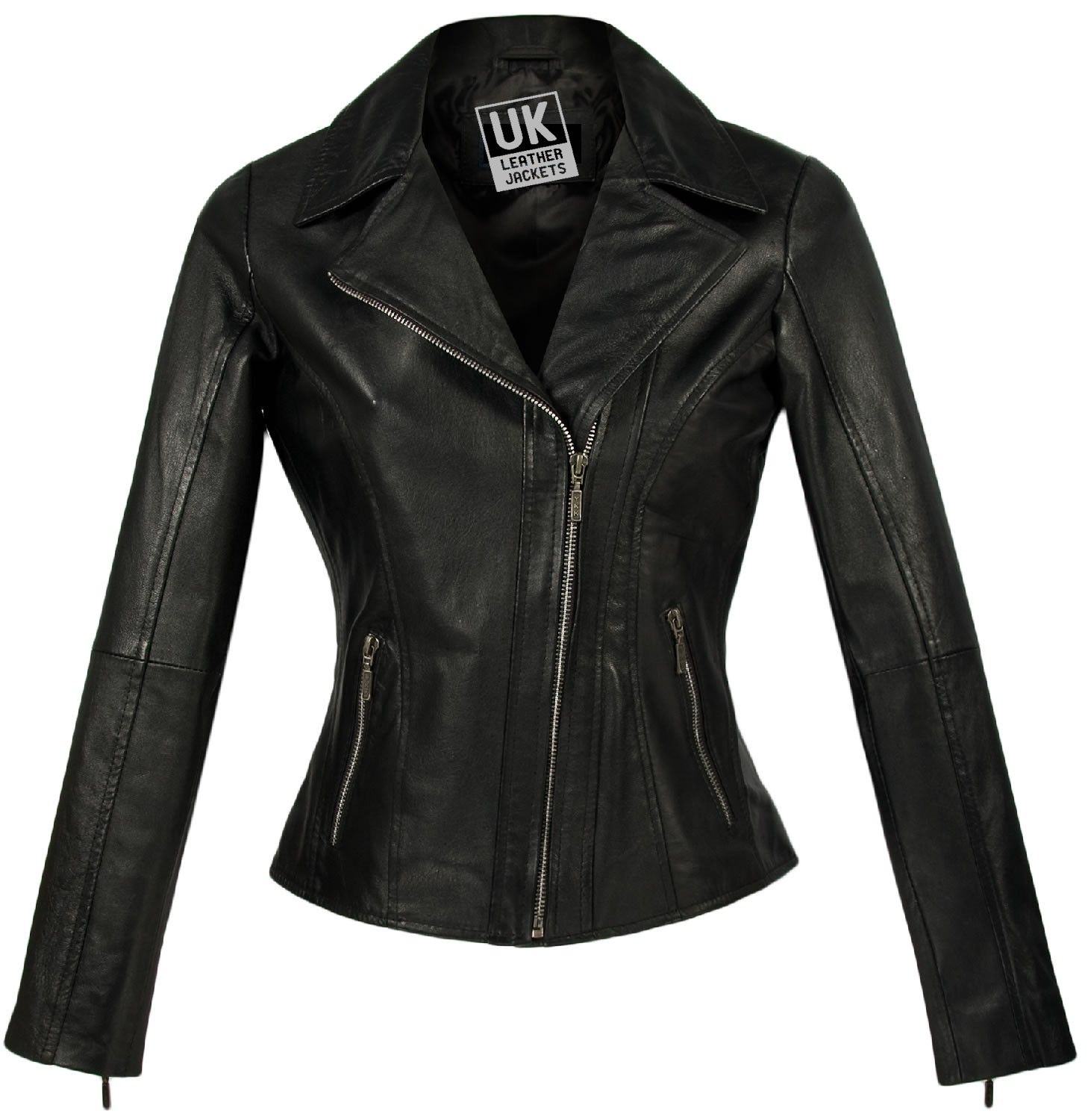women's leather jacket - | Women's Leather Jackets | Pinterest ...